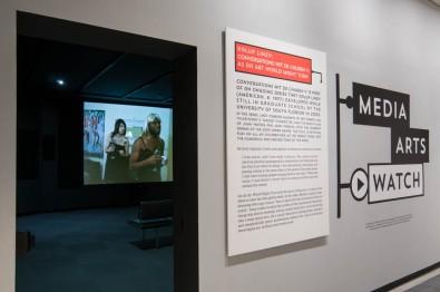 "Installation view: ""Conversations wit da Churen V: As da Art World Might Turn"" ©Andy Olenick. Fotowerks."